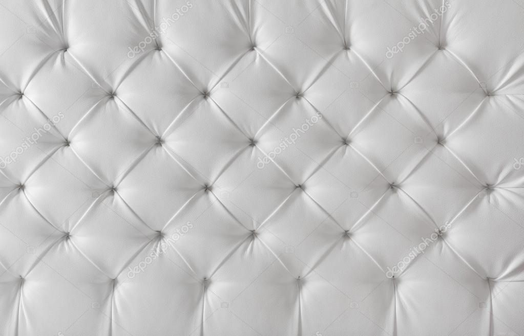 Leather cushion texture - Leather Upholstery White Sofa Texture Pattern Background