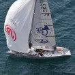 Tasso Etilico boat taking part to the Trofeo Gorla 2012 — Stock Photo