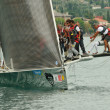 Clandesteam arriving the Trofeo Gorla 2012 — Stock Photo