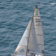 Asso 99 sailing during Centomiglia 2012 - Stock Photo