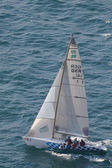 Asso 99 sailing during Centomiglia 2012 — Stock Photo