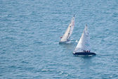 Two Asso 99 sailing during Centomiglia 2012 — Stock Photo