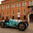 Постер, плакат: Light blue Bugatti Type 35 in Ravenna