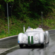 Gray BMW 328 Mille Miglia roadster during 1000 Miglia — Stock Photo