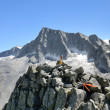 The summit of Mount Adamello — Stock Photo