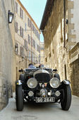 Black 1930 Bentley 4,5 Litre Supercharged in San Marino — Stock Photo