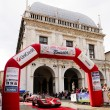Red Puma GTV during 500 Miglia Touring — Stock Photo
