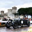 Dark green Bentley 4,5 Litre, 1929, in Sirmione — Stock Photo