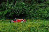 A red Aston Martin International — Stock fotografie