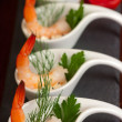 Shrimp Appetizer — Stock Photo