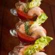 Shrimp Appetizer — Stock Photo #13715656