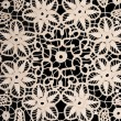 Handmade antique Lace - ストック写真