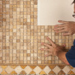 Tiling - Stock Photo