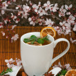 Healthy Herbal Tea — Foto de Stock