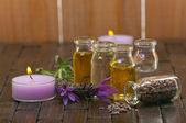 Massage Oils — Stock Photo