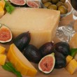 Cheese and Figs — Stock fotografie