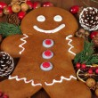 Gingerbread Man — Foto de stock #37079749