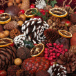 Stock Photo: Christmas Potpourri