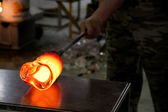 Glassmaking in Murano — Stock Photo
