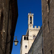 Palace of the consuls - Gubbio — Stock Photo