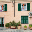 Final Borgo (Finale Ligure) — Stock Photo