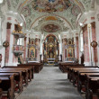 Saint Michael church - San Candido — Stock Photo