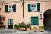 Final Borgo (Finale Ligure) — Stock Photo