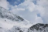 Winter landscape (Monte Rosa) — Stock Photo