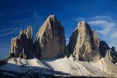 Üç tepeler — Stok fotoğraf