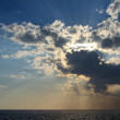 Sunset over sea — Stockfoto #33485429