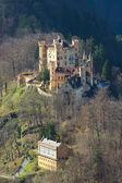 Zamek hohenschwangau — Zdjęcie stockowe