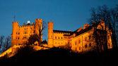 Castelo de hohenschwangau — Fotografia Stock