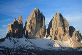 Três picos — Foto Stock