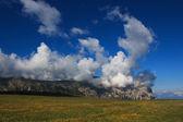 Sciliar in the clouds — Foto de Stock