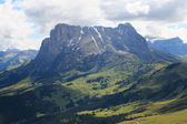 Alpe di Siusi and Sassopiatto — Foto Stock
