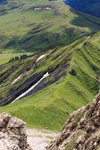 Alpe di Siusi from the fork Teeth Roterd — 图库照片