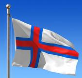 Grönland bayrağı — Stok fotoğraf
