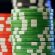 Casino chips stacks. — Stock Video #21279671