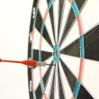 Stock Video: Playing Darts. Target hit.