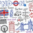 London Doodles — Stock Vector #32826011