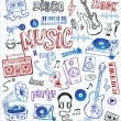 Sketchy music illustrations — Stock Vector #32826485