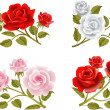 Rose buttonholes — Image vectorielle