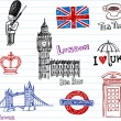 London Doodles — Stock Vector #32828889