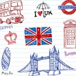 London Doodles — Stock Vector #32828959