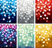 Backgrounds defocused light — Stock Vector