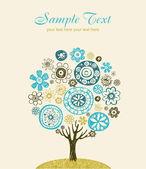 Spring tree — Stock Vector