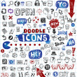 Doodled icons — Stock Vector #32872093