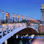 Alexander III bridge. — Stock Photo