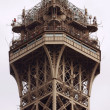 Dome of Eiffel tower. - Stock Photo