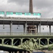 Bir-Hakeim. - Stock Photo